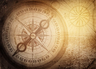 numerology old compass rose  Shutterstoc