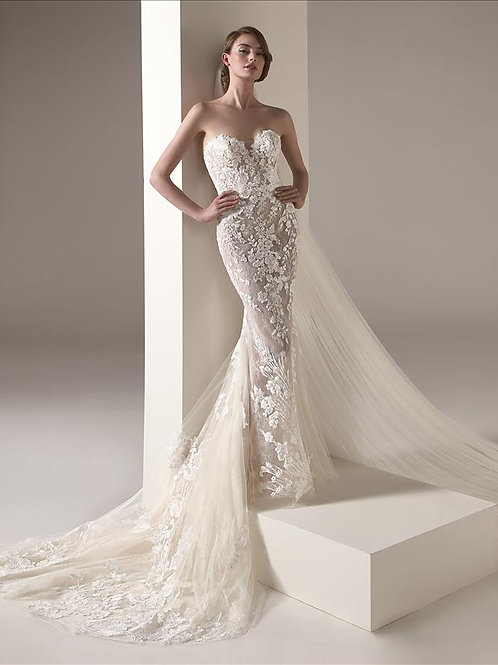 Zaha wedding gown