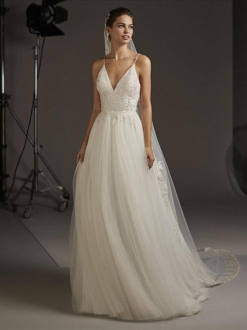 Volantia wedding dress