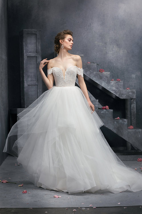 Charm wedding dress