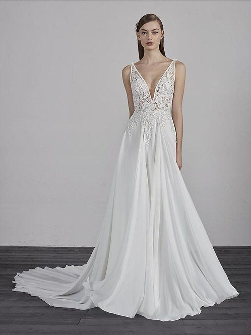Escala bridal gown