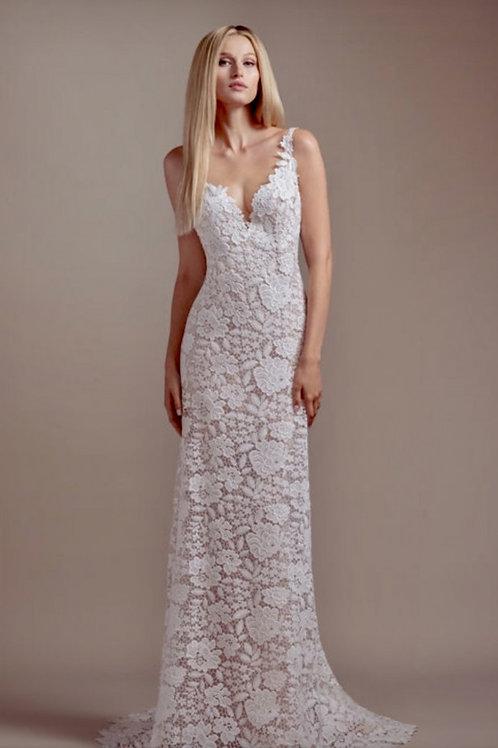 Atlas wedding gown