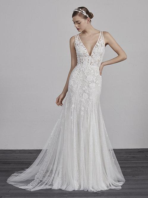 Estampa wedding dress