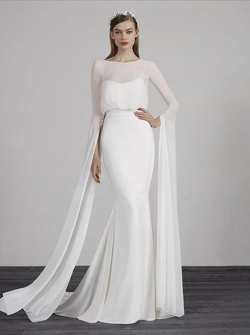 Mallorca bridal gown