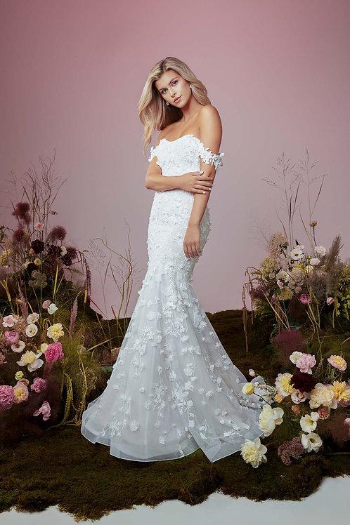 Flutter Wedding Gown
