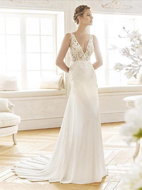 Balllet wedding dress