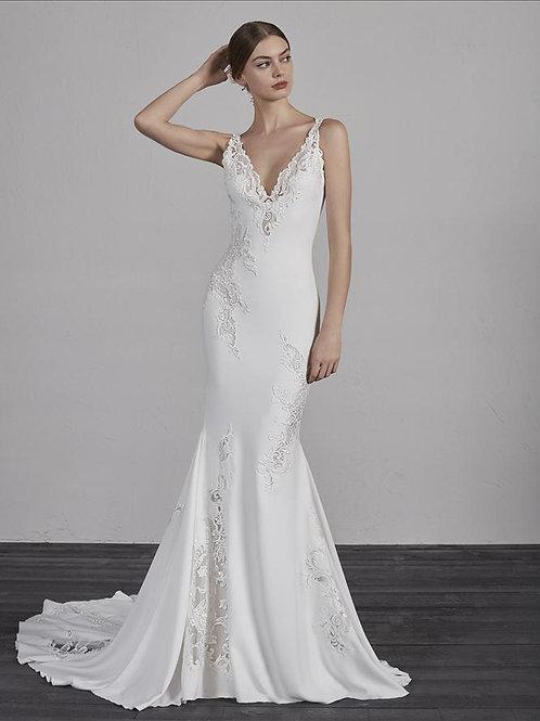 Enya wedding gown