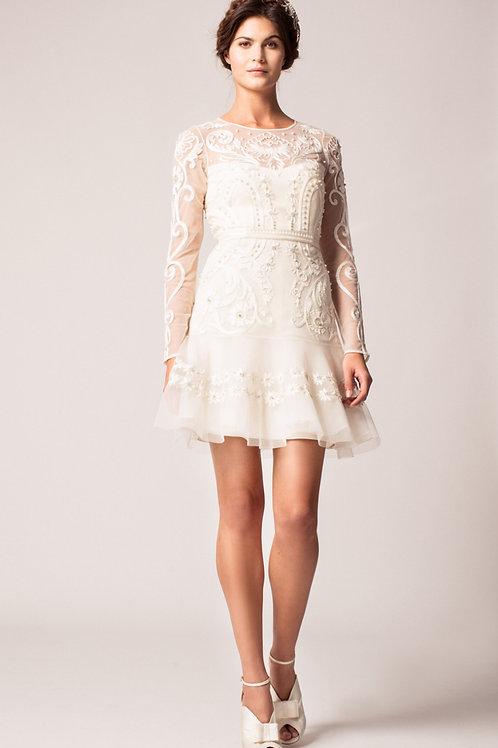 Mulberry wedding dress