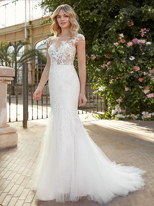 Paraguay wedding gown