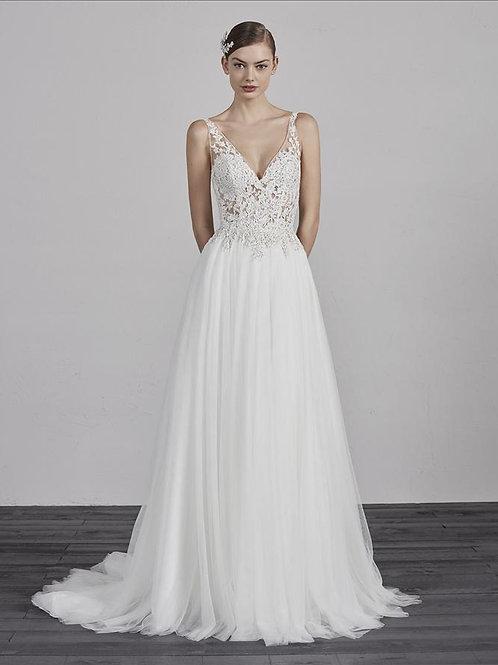 Estambul wedding gown