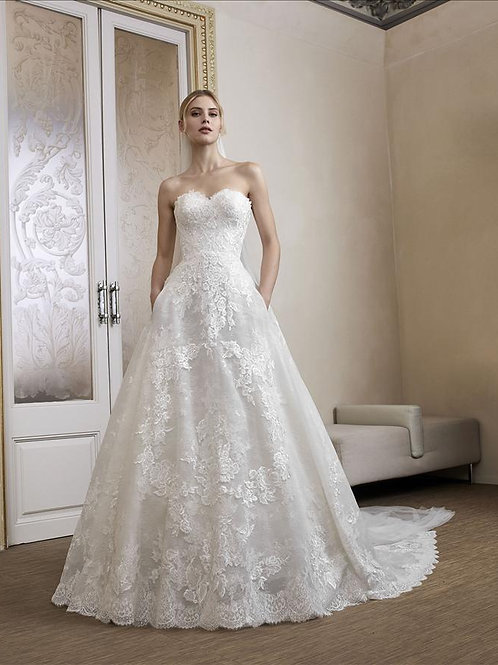 Lessing wedding gown