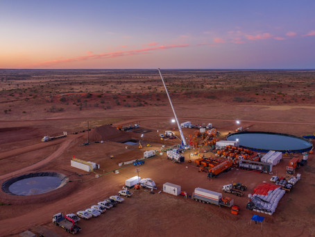 Another successful project completed in the Cooper Basin!