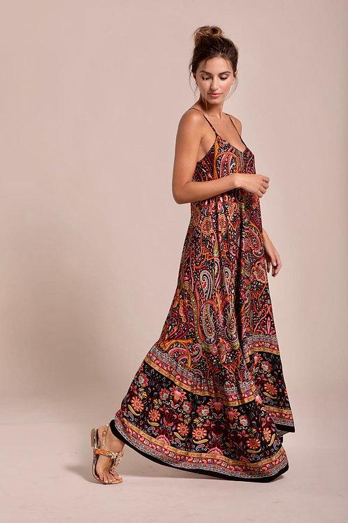 Robe motifs Caschemire