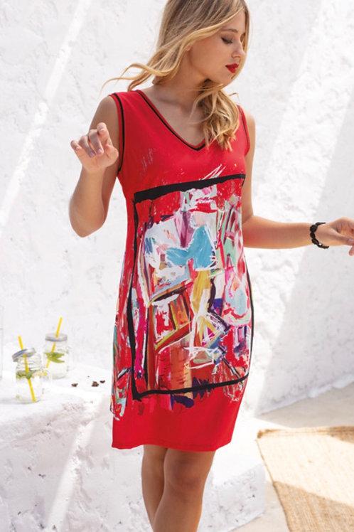 Maloka | Robe motifs