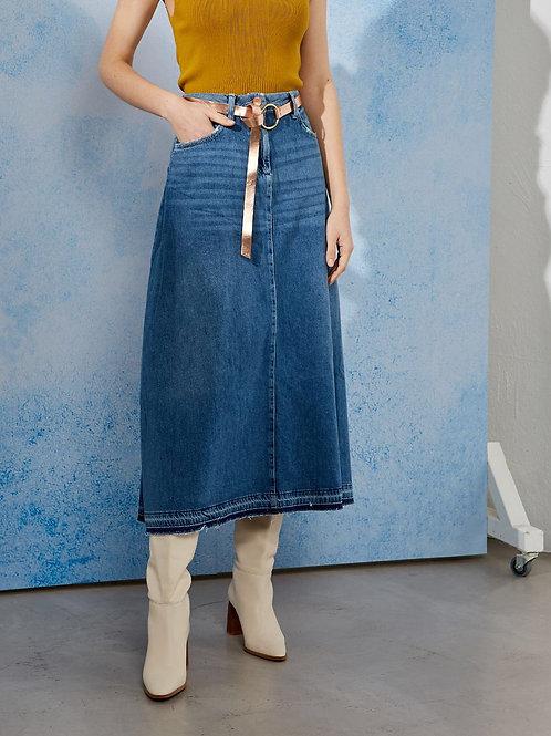 Jupe longue jeans |  BSB