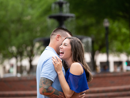 Lindsay + Pat {Engagement Photos}