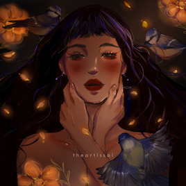 """Grave of Flowers"" by Saloni Kshirsagar"
