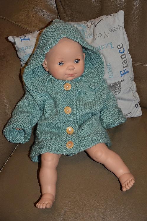 Gilet bébé au tricot taille 1an