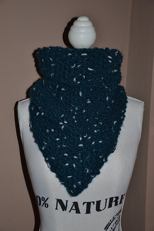 Snood Chèche au tricot