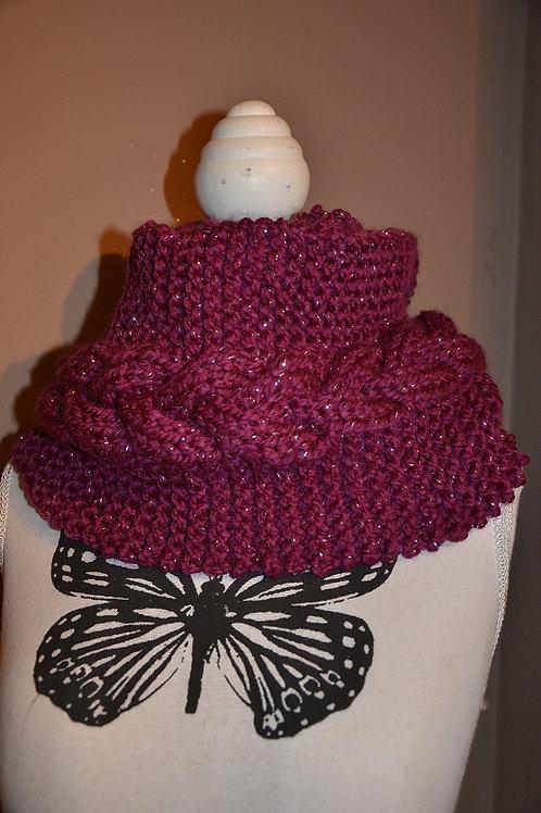 Snood au tricot
