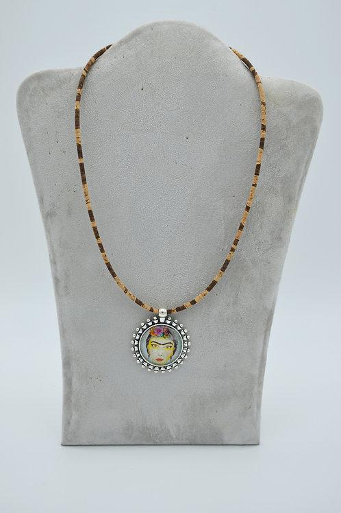 Collier ras de cou frida kahlo