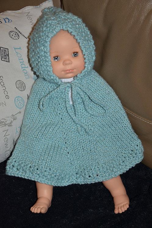 Poncho bébé taille 6/9 mois