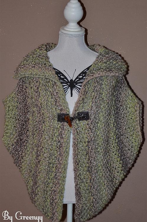 Capeline au tricot