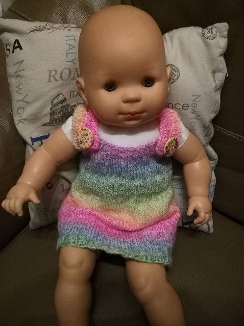 Robe au tricot pour bébé taille 3 mois