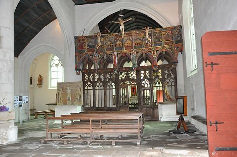 jubé - chapelle st Fiacre - Le Faouët -