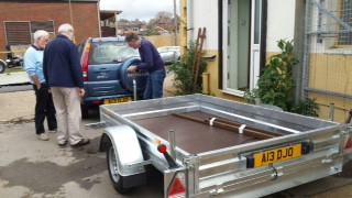 Our Trailer's Arrived