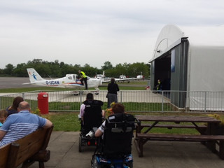Aerobility at Blackbushe Saturday and Goodwood fly-in to visit Tangmere Aug4th
