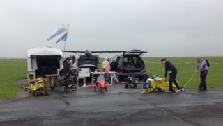 A Grey Day, but Hog Roast is Coming!