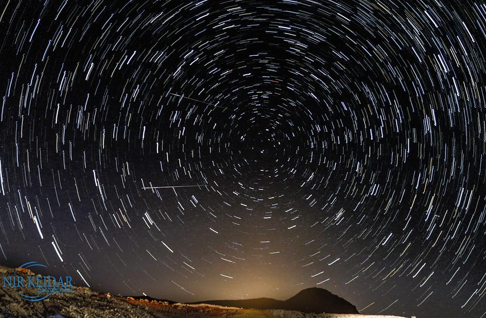 מסלול כוכבים star trail
