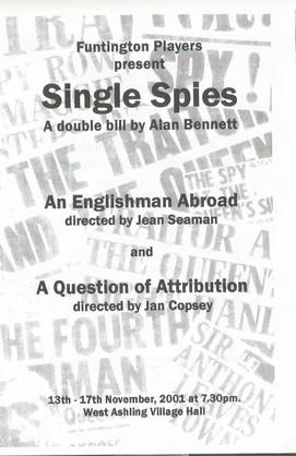 Single Spies 2001