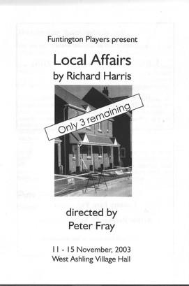Local Affairs 2003