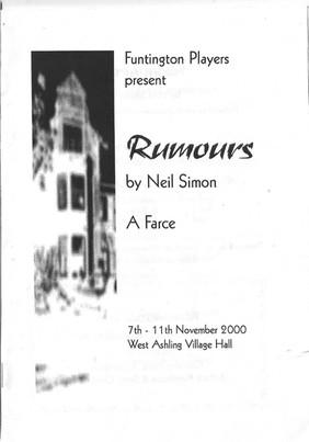 Rumours 2000