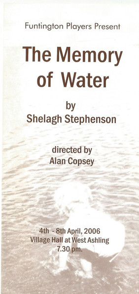 The Memory of Water 2006