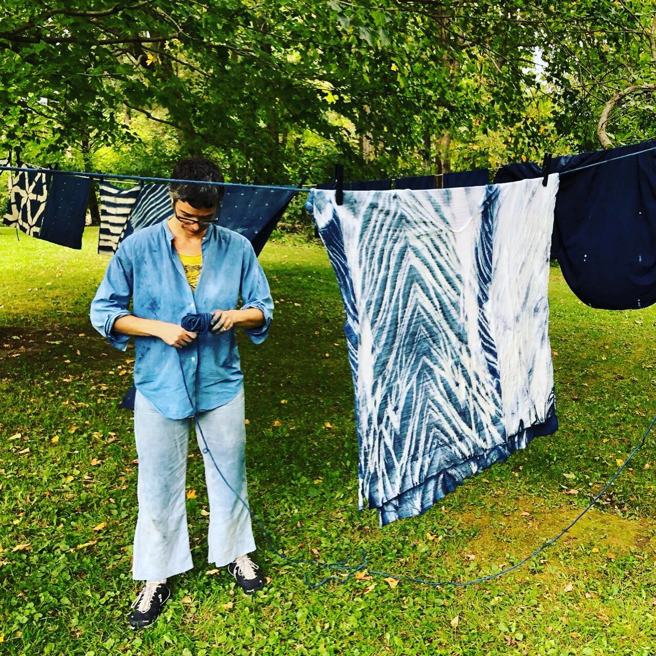 Indigo Dying Workshop
