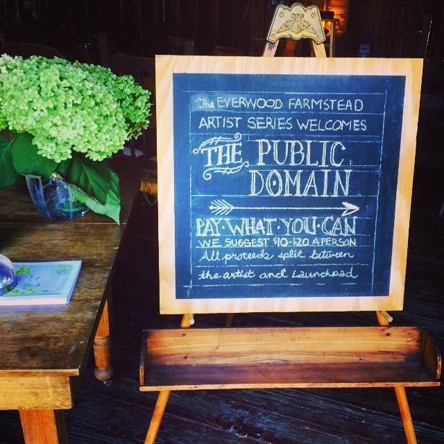 """""""The Public Domain"""" : 8/15/15"""