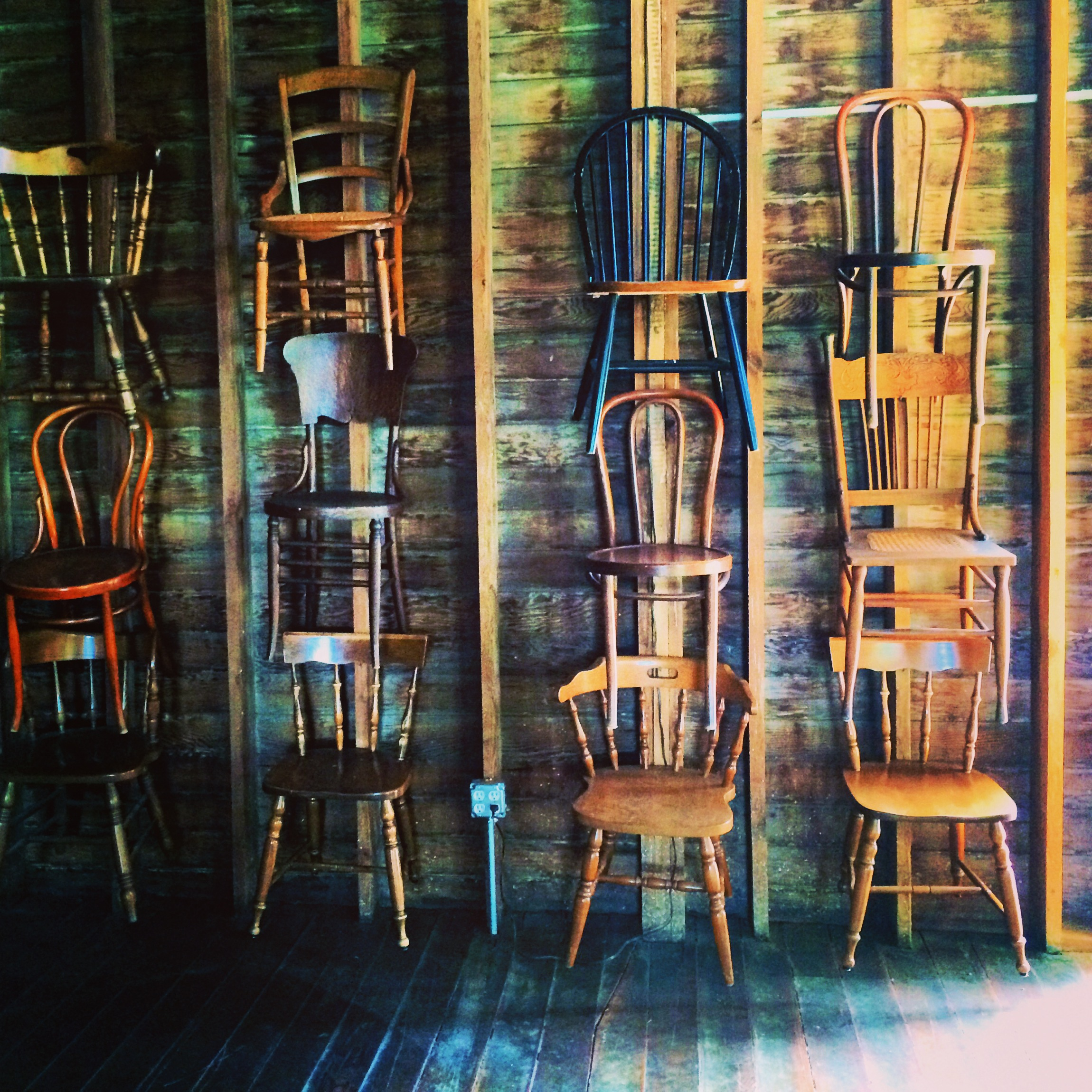 Barn chairs