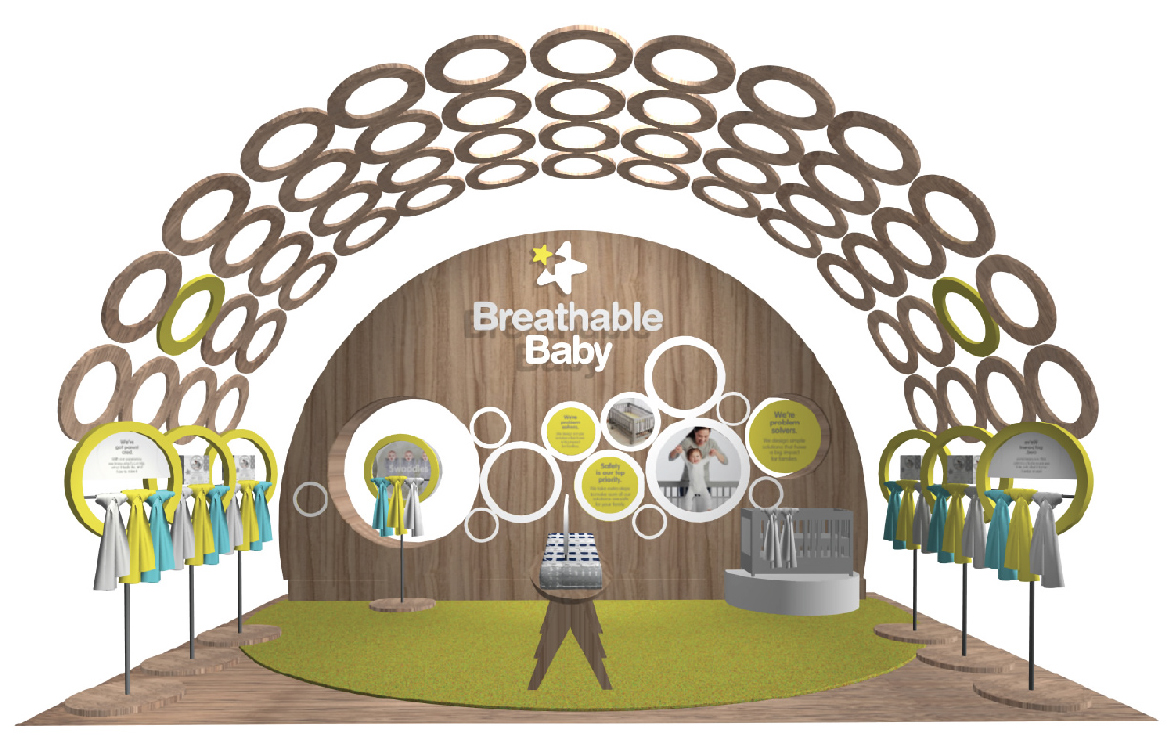 Breathable Baby Trade Show Booth