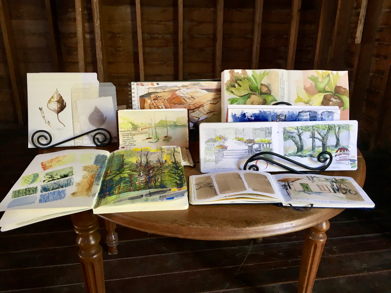 Pamela Luer Sketchbook Workshop