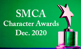 SMCA December 2020 Character Awards