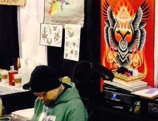 BPT at the 2014 Minneapolis Tattoo Convention!