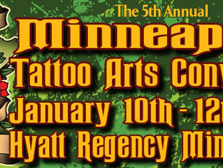 We are attending the 2014 Minneapolis Tattoo Convention!