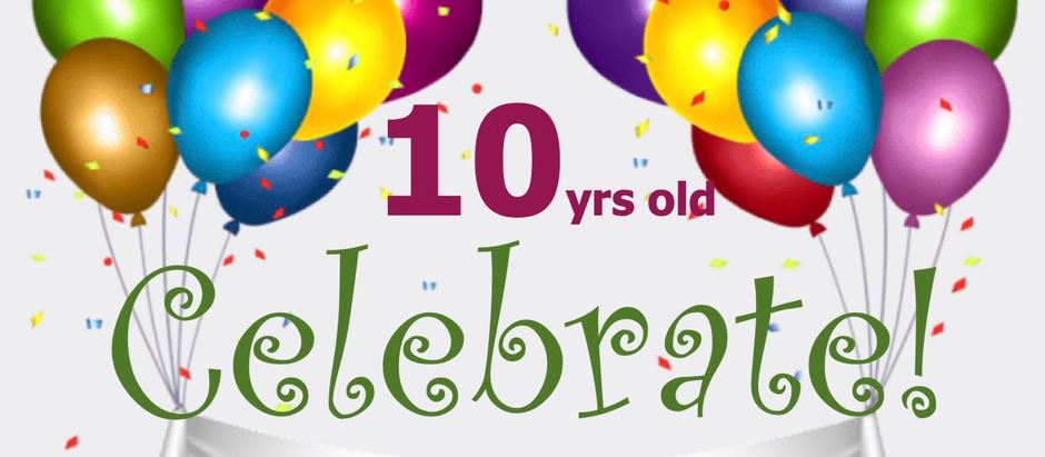 Happy10th Birthday!