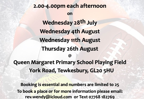 Book in for Sports & Games sessions