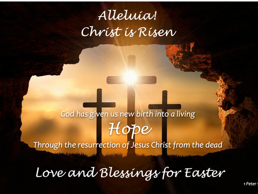 Happy Easter - Jesus is Alive!