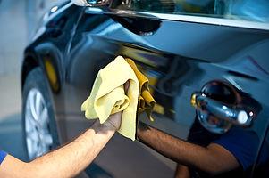 Polishing Car