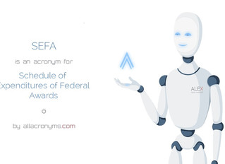 Audit Preparation: Preparing the Schedule of Expenditures of Federal Awards (SEFA)
